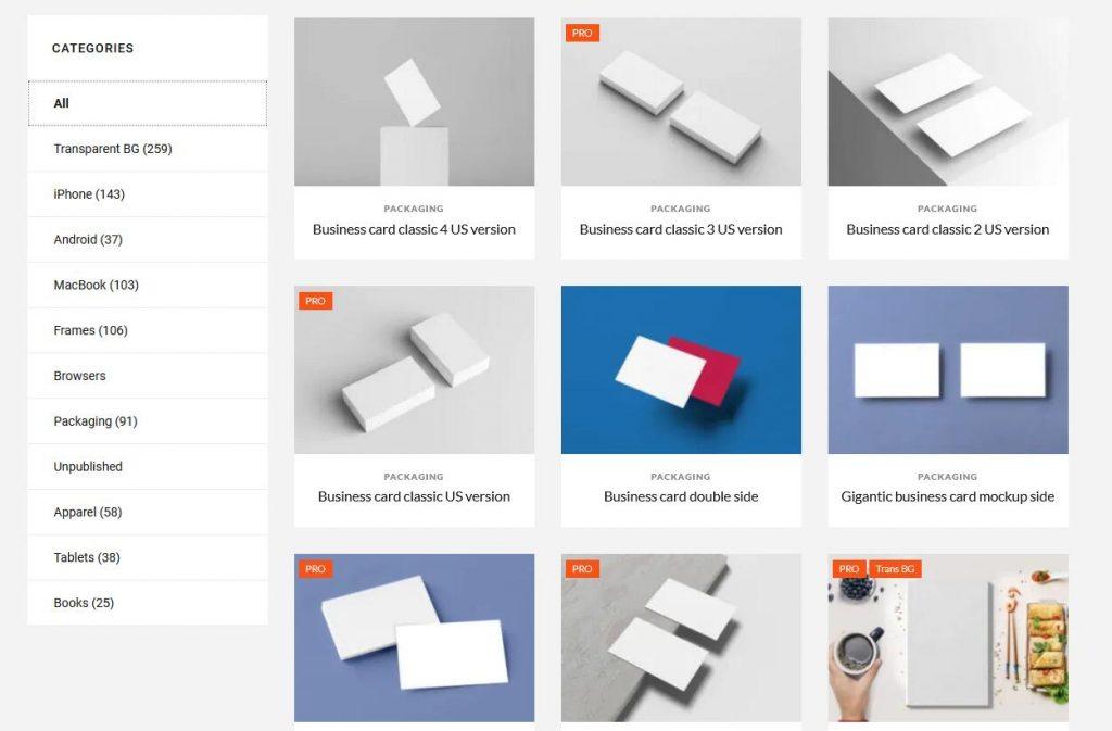 免费使用的国外样机素材网站 5款(样机素材图下载制作)-橘子皮