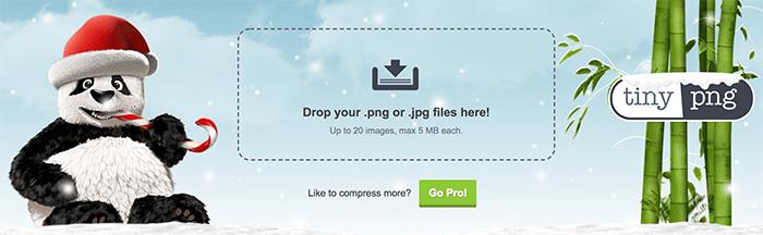 Tinypng - 压缩率、保真率都极高的在线图片压缩工具