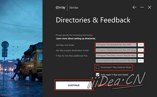 VRay 5 For 3dmax inst 03 - VR渲染器正式版VRay 5.05 For 3dmax 2016-2021 Win + 完整材质资源库