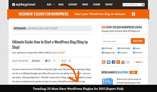 'wordpress添加浮动页脚栏'的缩略图