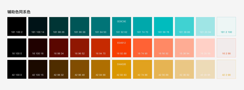 纳尼?产品色彩系统居然可以套数学公式?
