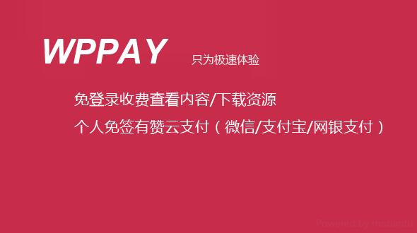 'WordPress付费查看插件:WPPAY2.1破解版'的缩略图